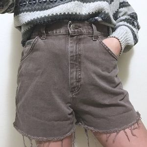 VTG🌵LEE taupe high waisted shorts